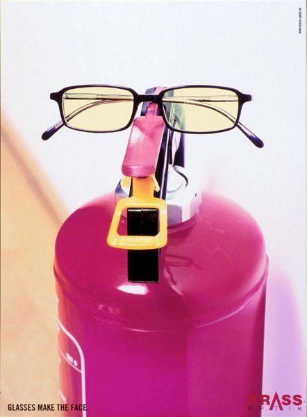 реклама принты очки